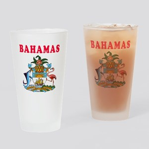 Bahamas Coat Of Arms Designs Drinking Glass