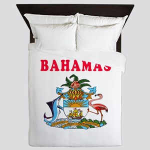 Bahamas Coat Of Arms Designs Queen Duvet