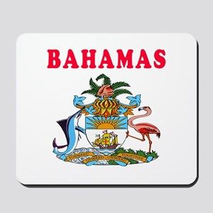 Bahamas Coat Of Arms Designs Mousepad