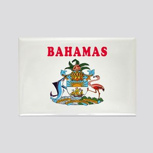 Bahamas Coat Of Arms Designs Rectangle Magnet