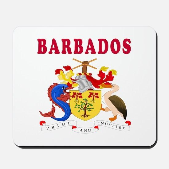 Barbados Coat Of Arms Designs Mousepad
