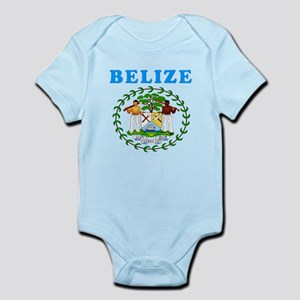 Belize Coat Of Arms Designs Infant Bodysuit