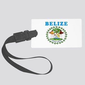 Belize Coat Of Arms Designs Large Luggage Tag