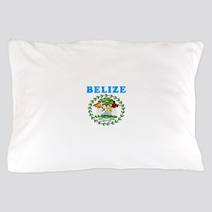 Belize Coat Of Arms Designs Pillow Case