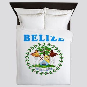 Belize Coat Of Arms Designs Queen Duvet