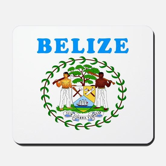Belize Coat Of Arms Designs Mousepad