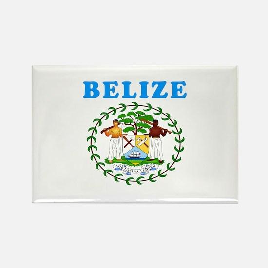 Belize Coat Of Arms Designs Rectangle Magnet