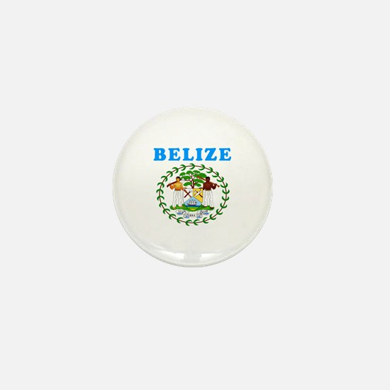Belize Coat Of Arms Designs Mini Button