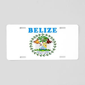 Belize Coat Of Arms Designs Aluminum License Plate