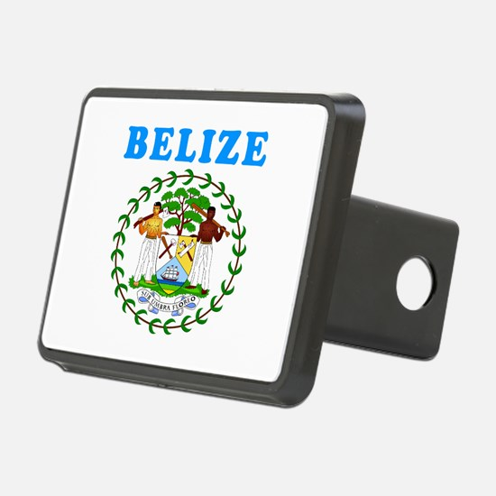 Belize Coat Of Arms Designs Hitch Cover