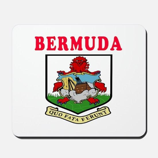 Bermuda Coat Of Arms Designs Mousepad