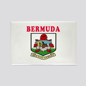Bermuda Coat Of Arms Designs Rectangle Magnet