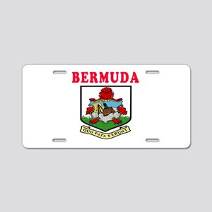 Bermuda Coat Of Arms Designs Aluminum License Plat