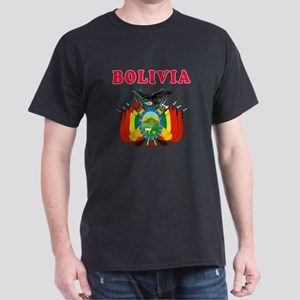 Bolivia Coat Of Arms Designs Dark T-Shirt