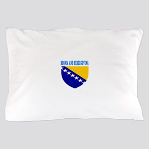 Bosnia and Herzegovina Coat Of Arms Designs Pillow
