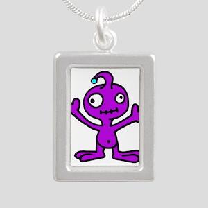 Space Alien Necklaces