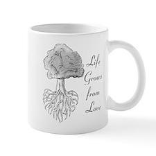 Life Grows from Love Mug