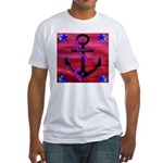 Anchors Away Ocean Badge Fitted T-Shirt