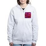 Anchors Away Ocean Badge Women's Zip Hoodie