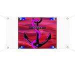 Anchors Away Ocean Badge Banner