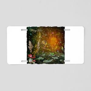 Fairy Tales Aluminum License Plate