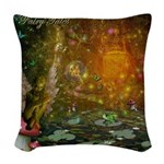 Fairy Tales Woven Throw Pillow