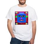 Robot Island Chief Head White T-Shirt