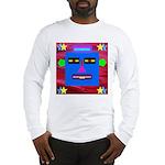 Robot Island Chief Head Long Sleeve T-Shirt