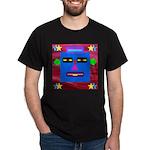 Robot Island Chief Head Dark T-Shirt
