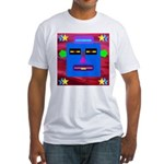 Robot Island Chief Head Fitted T-Shirt