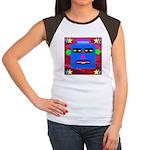 Robot Island Chief Head Women's Cap Sleeve T-Shirt