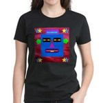 Robot Island Chief Head Women's Dark T-Shirt