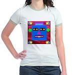 Robot Island Chief Head Jr. Ringer T-Shirt