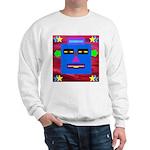 Robot Island Chief Head Sweatshirt