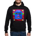 Robot Island Chief Head Hoodie (dark)