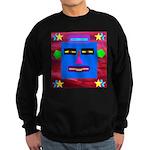 Robot Island Chief Head Sweatshirt (dark)