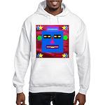 Robot Island Chief Head Hooded Sweatshirt