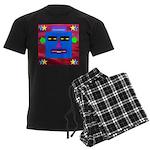 Robot Island Chief Head Men's Dark Pajamas