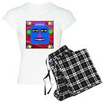 Robot Island Chief Head Women's Light Pajamas