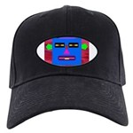 Robot Island Chief Head Black Cap