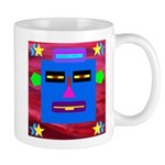Robot Island Chief Head Mug