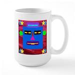 Robot Island Chief Head Large Mug