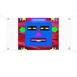 Robot Island Chief Head Banner