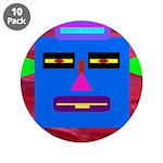 "Robot Island Chief Head 3.5"" Button (10 pack)"