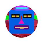 "Robot Island Chief Head 3.5"" Button (100 pack"