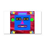 Robot Island Chief Head Car Magnet 20 x 12