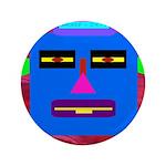 "Robot Island Chief Head 3.5"" Button"