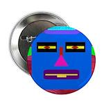 "Robot Island Chief Head 2.25"" Button (10 pack"