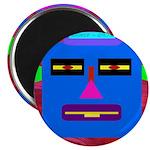 "Robot Island Chief Head 2.25"" Magnet (100 pac"