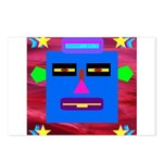 Robot Island Chief Head Postcards (Package of 8)